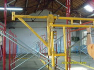 China Heavy Duty Scaffolding Frames With Powder Coated Side Brackets 1524x1524xΦ42x2.3mm company