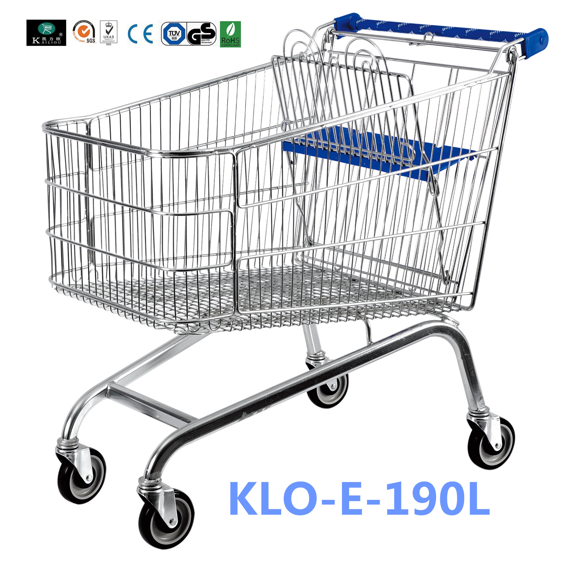 Quality Grocery Shopping Trolley & Wire Shopping Trolley Manufacturer