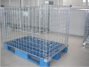 China Warehouse Storage Cages container Retail Shop Equipment For Supermarket factory