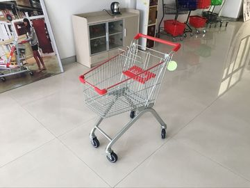 European design 60L PPG Powder Steel commercial shopping cart For Supermarket