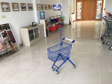 33 Liter color Plated Kids Shopping Carts with clear powder coating Grocery Shopping Cart