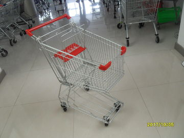 Zinc plating  powder coating with Shopping Cart Trolley 100L used in small shop