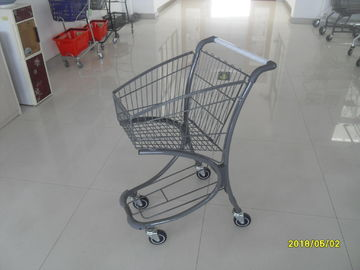 Free Duty Shop 40L Supermarket Shopping Trolley , Airport Shopping Cart