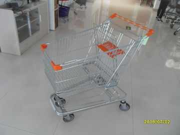 125L Supermarket Shopping Trolley With 4 Swivel Flat Casters  941 X 562 X 1001mm