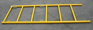 Movable Walk Thru Scaffolding Frames For Building / Ladder Scaffolding System
