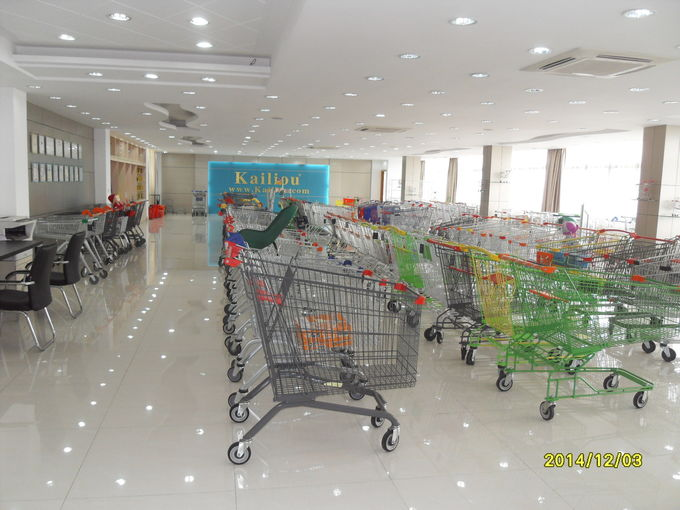 Small Metal Kids Shopping Cart For Supermarket Grocery